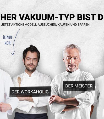 """""""Welcher Vakuum-Typ bist du?"""" – BOSS Vakuum Aktion 2017"""