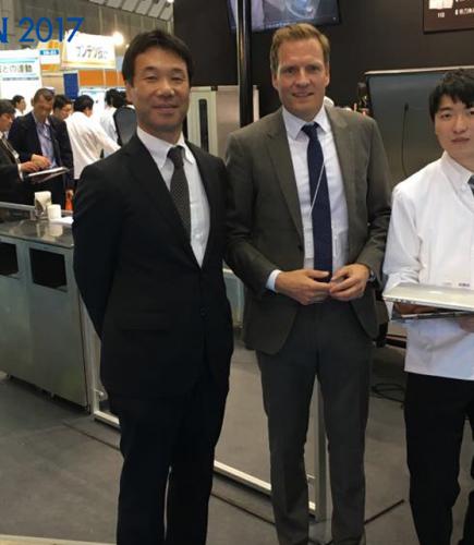 BOSS Vakuum präsentiert sich auf der FOOMA Messe in Tokio