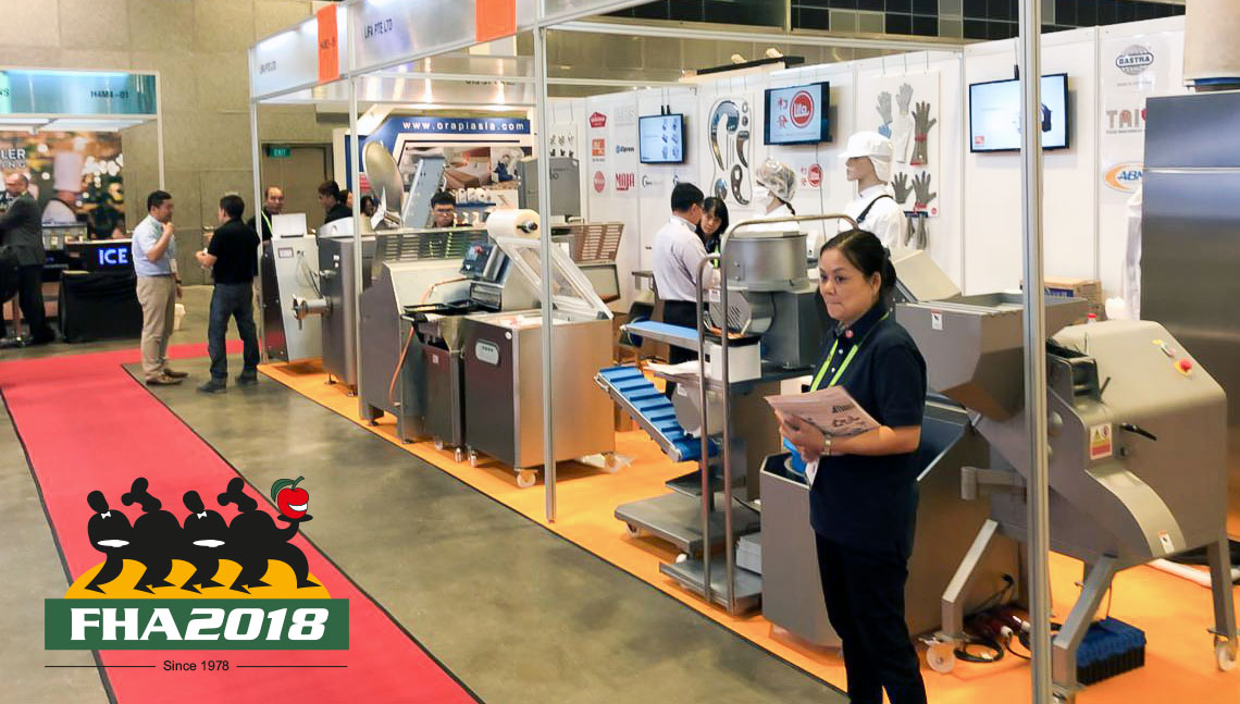 Messe in Singapore – FHA Food & Hotel Asia