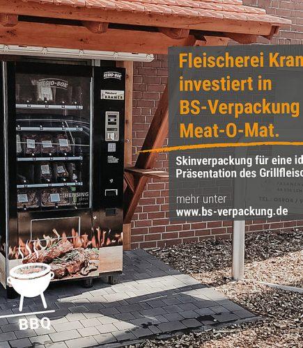 FLEISCHEREI KRAMER INVESTIERT IN BS-VERPACKUNG UND MEAT-O-MAT