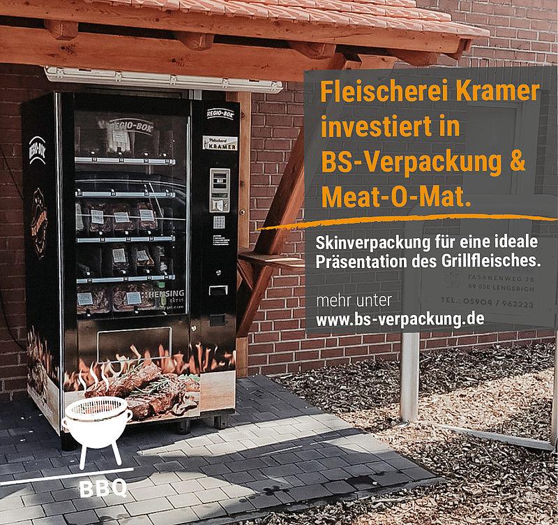 FLEISCHEREI KRAMER INVESTIERT IN BS-VERPACKUNG